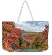Guardsman Pass To Midway In The Fall - Utah Weekender Tote Bag
