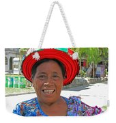 Guatemalan Village Woman Weekender Tote Bag