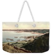 Guernsey - Rocquaine Bay - Channel Islands - England Weekender Tote Bag