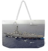 Guided Missile Destroyers Uss Dewey Weekender Tote Bag