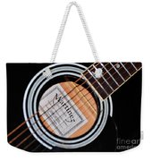 Guitar Abstract 1 Weekender Tote Bag
