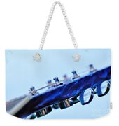 Guitar Abstract 5 Weekender Tote Bag