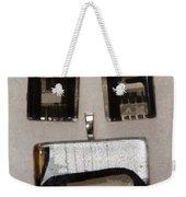 Guitar Glass Tile Set Weekender Tote Bag