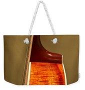 Guitar Wood Grain Exposed Weekender Tote Bag