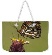 Gulf Fritillary Butterfly - Agraulis Vanillae Weekender Tote Bag