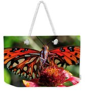 Gulf Fritillary Butterfly Weekender Tote Bag