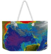 Gulf Of Mexico Dead Zone Weekender Tote Bag by Science Source