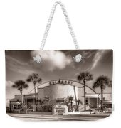 Gulfport Casino In Sepia Weekender Tote Bag