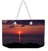 Gulfview Sunset Weekender Tote Bag