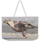 Gull Taking Off Weekender Tote Bag