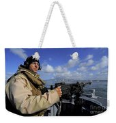 Gunners Mate Mans An M2 Hb .50-caliber Weekender Tote Bag