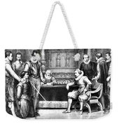Guy Fawkes, English Soldier Weekender Tote Bag by Photo Researchers