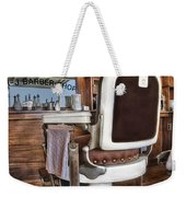 H J Barber Shop Weekender Tote Bag