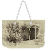 Hacienda Antique Plate Weekender Tote Bag