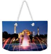 Hagia Sophia At Night Weekender Tote Bag