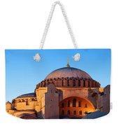 Hagia Sophia In Istanbul Weekender Tote Bag