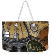 Hagia Sophia Interiour  Weekender Tote Bag