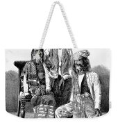 Hairy Faced Burmese Family Weekender Tote Bag