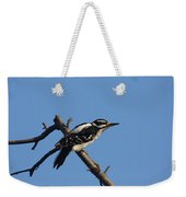 Hairy Woodpecker Weekender Tote Bag