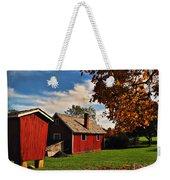 Hale Farm In Autumn Weekender Tote Bag