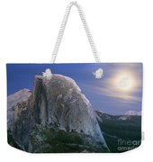 Half Dome Moon Rise Weekender Tote Bag