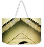 Half Moon On Rurual Outhouse Weekender Tote Bag