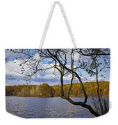 Hall Lake In Autumn No 0118 Weekender Tote Bag
