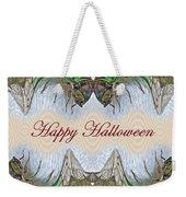 Halloween Fantasmagorical Cicada Card Weekender Tote Bag