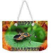 Halloween Greeting Card - Box Elder Bug Weekender Tote Bag