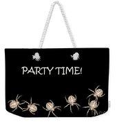 Halloween Greetings. Spider Party Series #01 Weekender Tote Bag