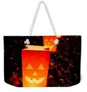 Halloween Paper Lanterns Weekender Tote Bag