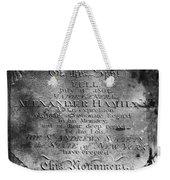 Hamilton: Pamphlet, 1797 Weekender Tote Bag