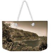 Hana Highway Sepia Weekender Tote Bag