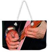 Sun In The Hands And Guitar Of Uli Jon Roth Weekender Tote Bag