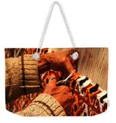 Hands Of The Carpet Weaver Weekender Tote Bag
