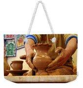 Hands Of The Potter Weekender Tote Bag