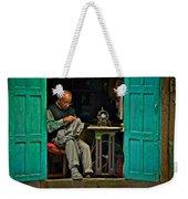 Handsewn With Care Weekender Tote Bag