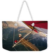 Hang Gliding With Wing-mounted Camera Weekender Tote Bag