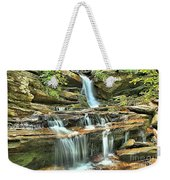 Hanging Rock Cascades Weekender Tote Bag