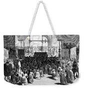 Hannukah Celebration, 1880 Weekender Tote Bag