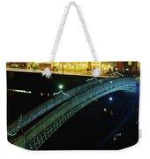Hapenny Bridge, Dublin City, Co Dublin Weekender Tote Bag
