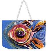Happified Swirl Fish Weekender Tote Bag