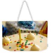 Happy Birthday Weekender Tote Bag
