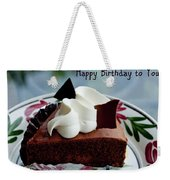 Happy Birthday To You Weekender Tote Bag