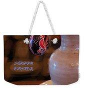 Happy Easter Poster Weekender Tote Bag