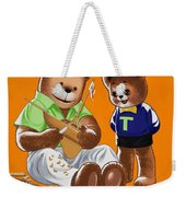 Happy Fathers Day Weekender Tote Bag