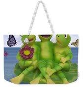 Happy Frogs Weekender Tote Bag