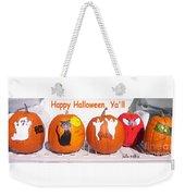 Happy Halloween  Yall Weekender Tote Bag