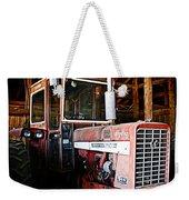 Happy Harvestor Tractor Weekender Tote Bag