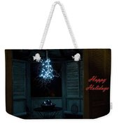 Happy Holiday Lights Weekender Tote Bag